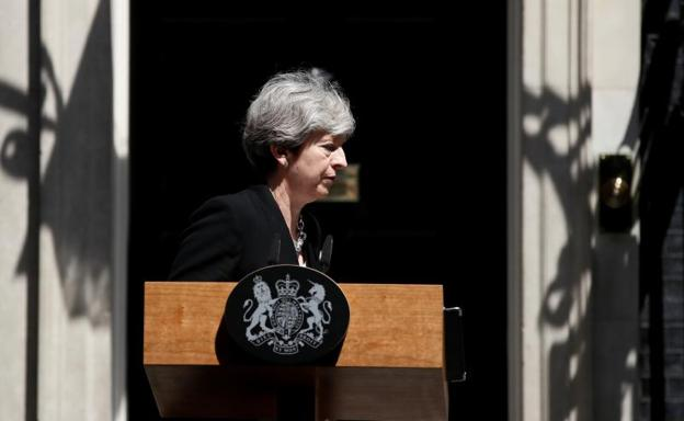 Theresa May./Reuters