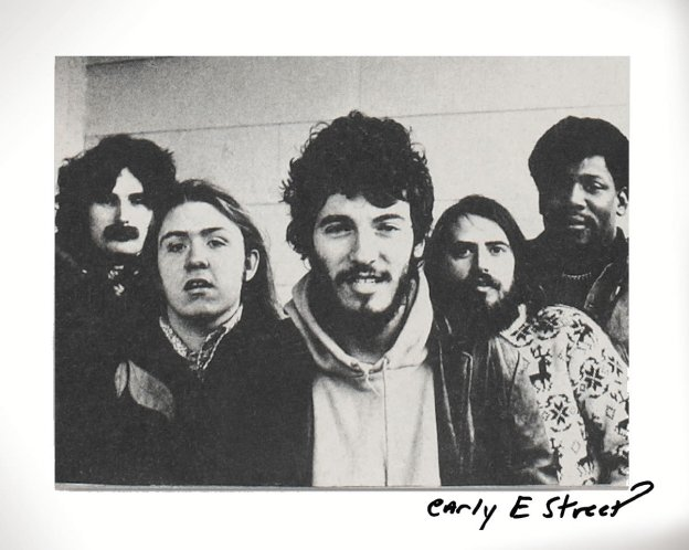 Springsteen, con la E Street Band.