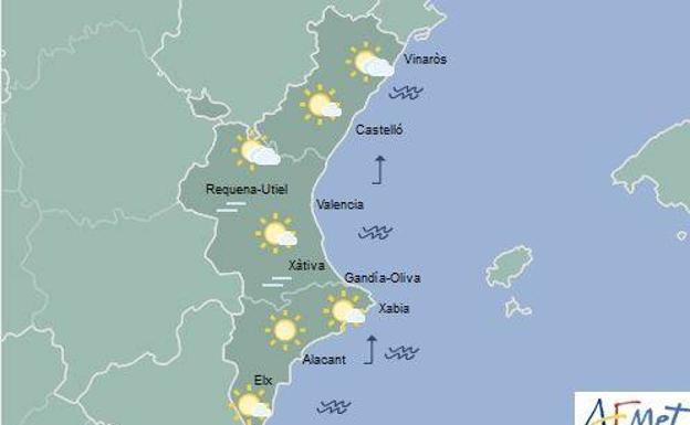 El tiempo en valencia alicante y castell n temperaturas en ascenso que pueden llegar a 31 en - El tiempo torreblanca castellon ...
