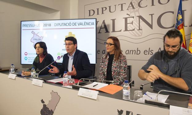 EL GOBIERNO VALENCIANO REPARTE EN UN SOLO DIA 350.000 EUROS A ENTIDADES CATALANISTAS