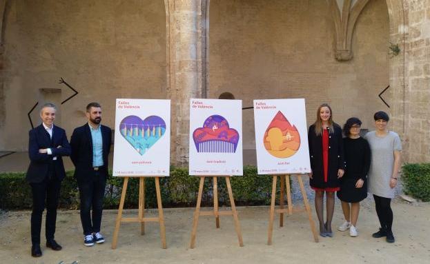 Así son los carteles de las Fallas 2018 de Valencia