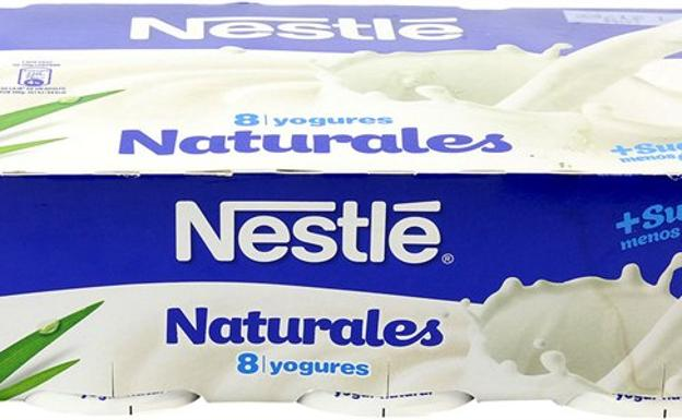 Yogur Nestlé natural