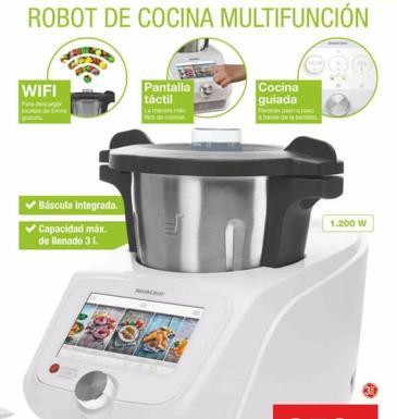 Lidl pone a la venta su nuevo robot de cocina las provincias for Robot de cocina la razon
