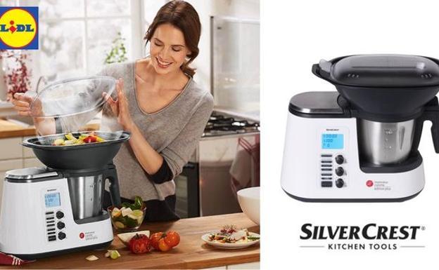 Lidl pone a la venta su nuevo robot de cocina las provincias for Robot de cocina silvercrest