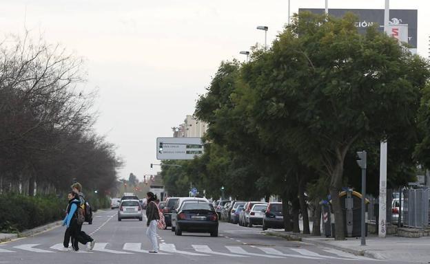 Avenida Tres Cruces.