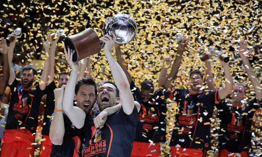 El Valencia Basket conquista la Liga ACB por primera vez en su ...