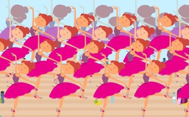 a23efbe869 Qué bailarina no lleva el uniforme completo