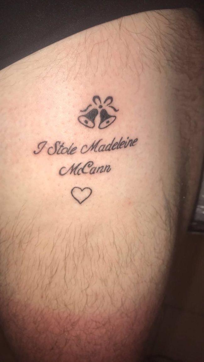 El Macabro Tatuaje Sobre Madeleine Mccann No Es Ninguna Moda Las