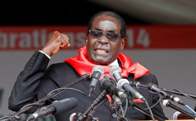 Robert Mugabe./Philimon Bulawayo (Reuters)