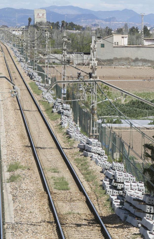 Europa fija como prioritaria la doble plataforma ferroviaria entre Valencia y Barcelona