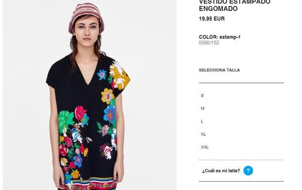 404f0e596 La firma ha modificado su guía de tallas de mujer en algunas prendas como  camisas