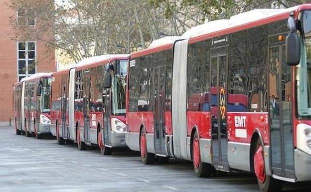 Detenido un conductor de la EMT por masturbarse mientras conducía un autobús