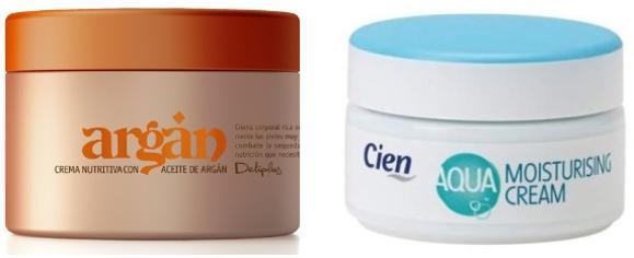 Crema Cien De Lidl Y Argan De Mercadona Diferencias Entre