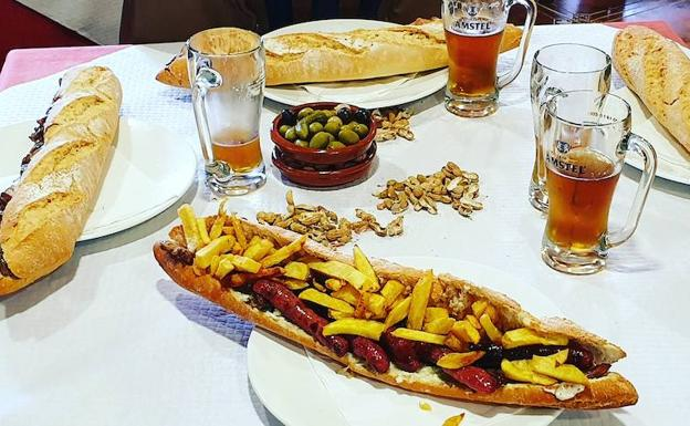 Ejemplo de un perfecto 'esmorzaret' valenciano.