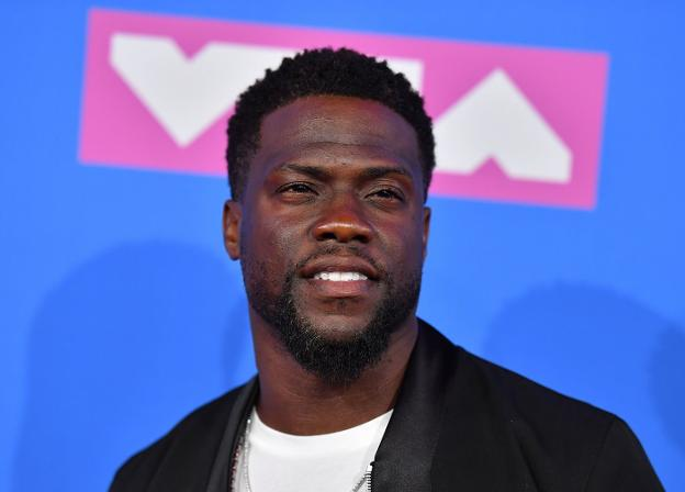 El actor Kevin Hart.