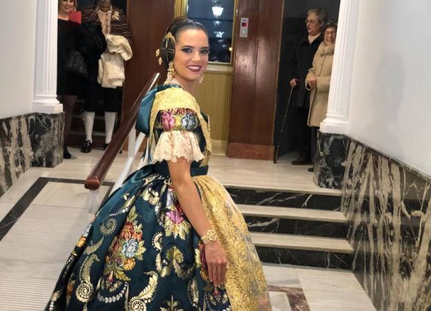 9c132d54aa Exaltación falleras mayores de Valencia 2019