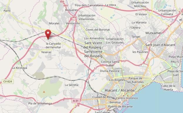 c42b24328 Una mujer muere atropellada por su propio coche en Alicante | Las ...