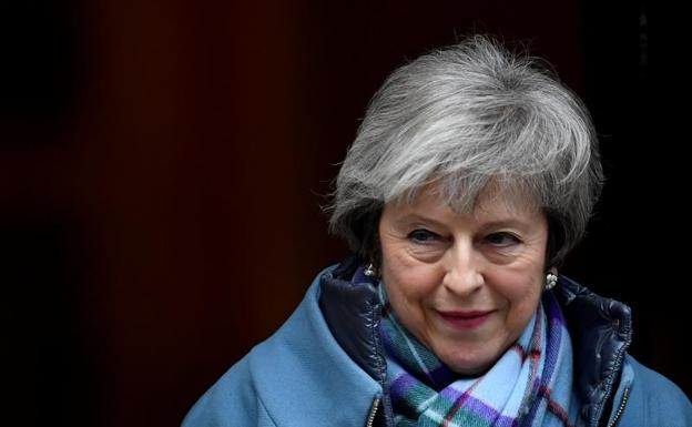 La primera ministra británica, Theresa May. /Reuters