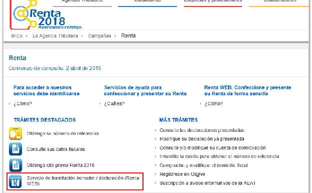 Aeat Calendario Fiscal 2020.Renta 2019 Como Descargar El Borrador De La Renta 2018