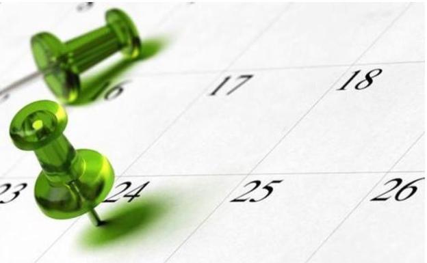 Calendario Laboral 2020 Sevilla.Calendario Laboral Cuando Sera La Semana Santa En 2020 Las