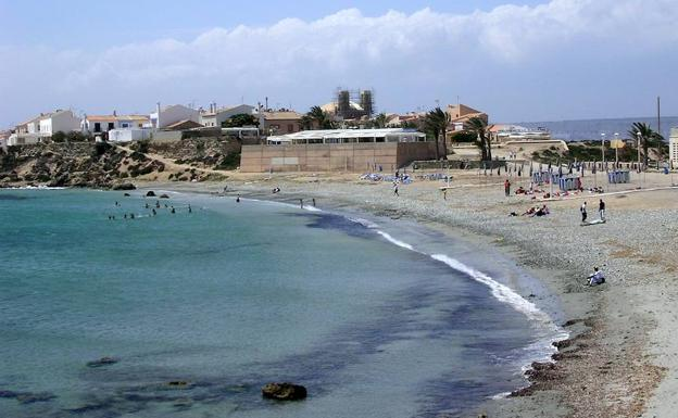 Tabarca beach, in Alicante.