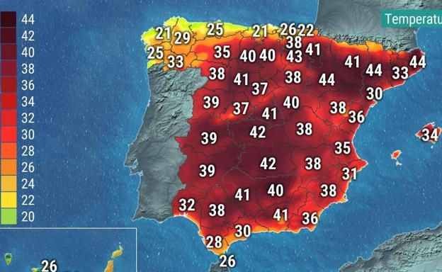 El tiempo de Aemet | La ola de calor que recorre Europa entra en ...