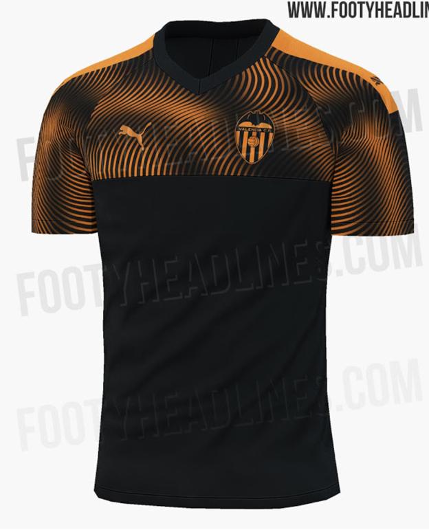 Ladrillo analogía cilindro  Serán así las nuevas camisetas del Valencia CF? | Las Provincias