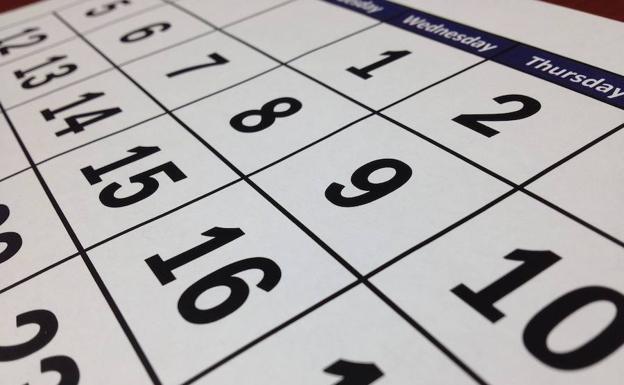 2020 Calendario Laboral.El Calendario Laboral De Lo Que Que Queda De 2019 Y 2020