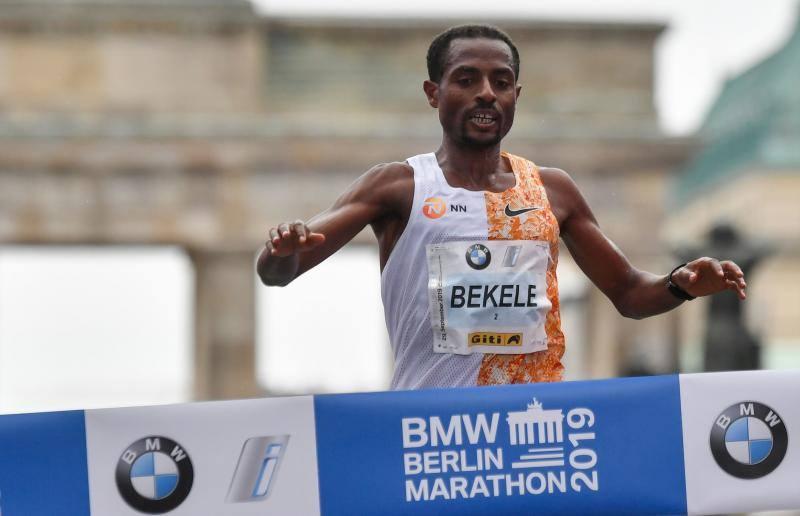 Bekele, ganador del Maratón de Berlín 2019: rozó el récord