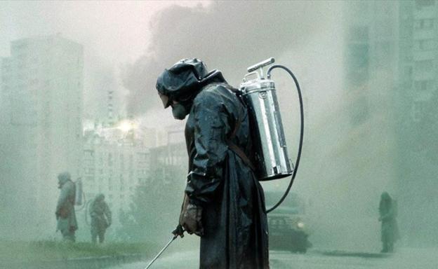 Un fotograma de 'Chernobyl'.