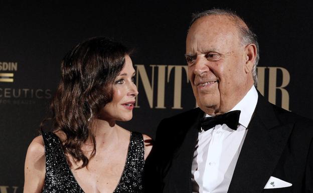 Carlos Falcó y Esther Doña en un acto público.