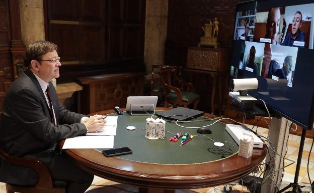 Puig anuncia que el Gobierno inyectará 600 millones de liquidez a la Generalitat «en pocos días»