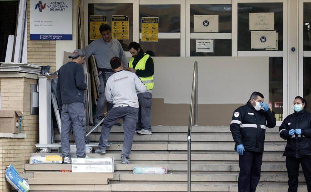 Concluyen las obras en la primera planta del antiguo Hospital la Fe de Valencia, que podrá acoger pacientes