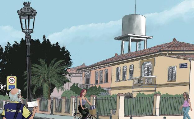 magen de Lalo Kubala para 'Valencia se ilustra'.
