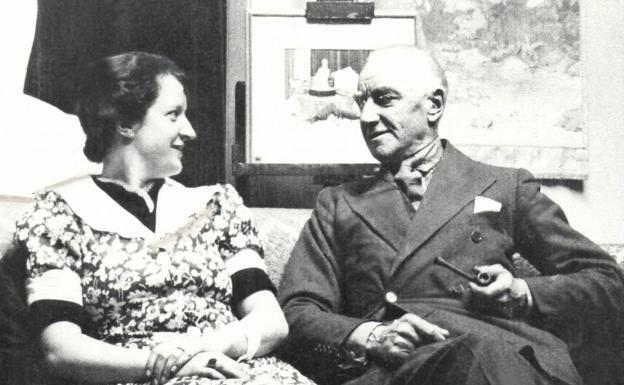 Charles Sykes y su hija Josephine