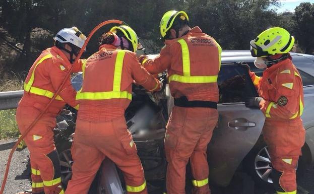 Los bomberos de Valencia denuncian falta de ropa de abrigo