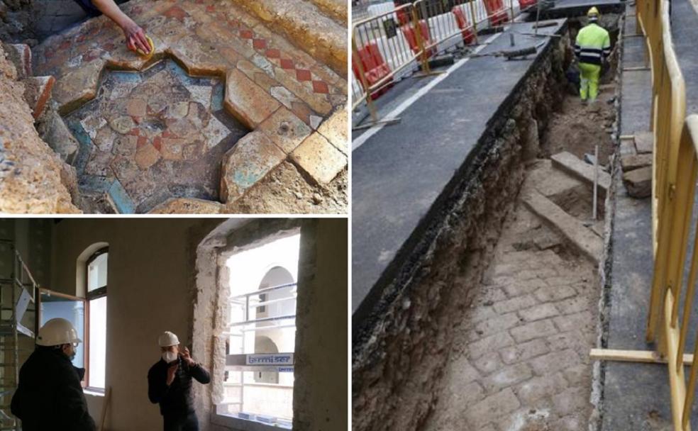 La antigua Valencia aflora entre obras