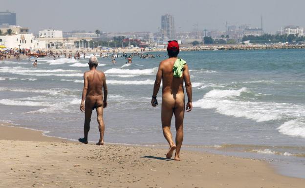 Imagen de archivo de la playa nudista de El Saler.  ./Irene Marsilla