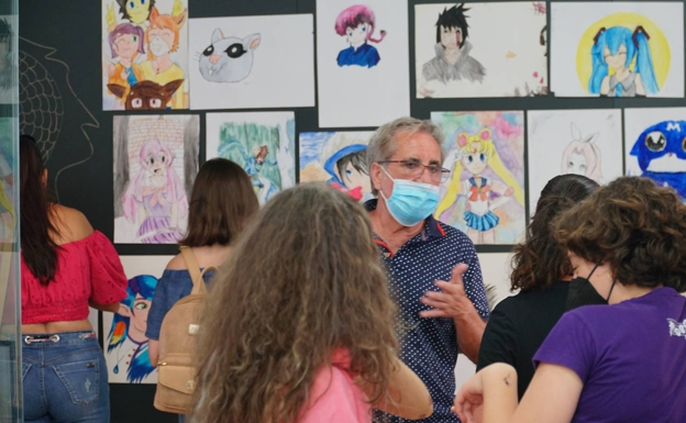 Primera edición de la Feria del Manga en la Vila Joiosa. /LP