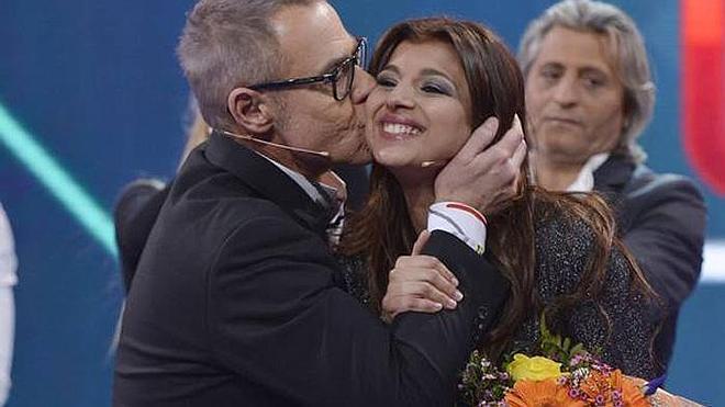 GH Vip: Aguasantas y Belén Esteban, en el plató de Telecinco