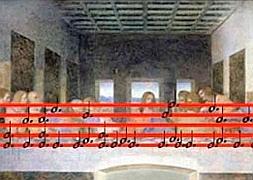 La Ultima Cena De Da Vinci Esconde Una Partitura Las Provincias